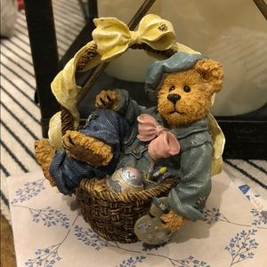 Boyds Bear Bearstone Rembrandt Eggsellent Work